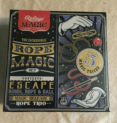Ridley's Magic The Incredible Rope Magic Set - New Unopened