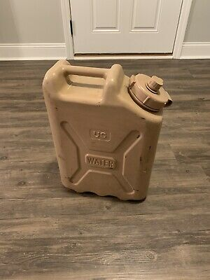 Military Water Can 5 Gallon 20L Desert Tan Scepter Jerry Can Water Jug