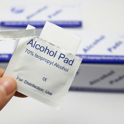 Alcohol Pad Antiseptic Skin Swab Wipes 70% Isopropyl Nail Cleansing Skin Prep