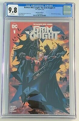 Batman Who Laughs: The Grim Knight 1 - CGC 9.8 - KRS Variant A - 423 Homage