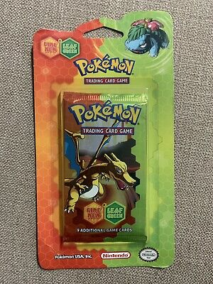 Pokémon Booster EX Series Fire Red Leaf Green Blister UNWEIGHED Charizard Art