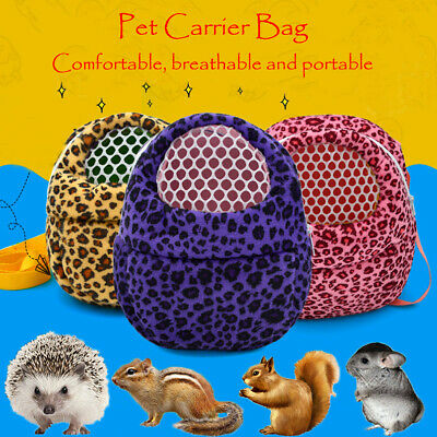Small Animal Pet Carrier Travel Bag Dog Cat Guinea Pig Rabbit Hamster Bird Rat