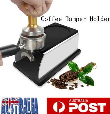 Coffee Tamper Holder Stand Rack Barista Espresso Powder Tamping Station Tool AU