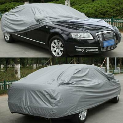 2 Layer Heavy Duty Waterproof Car Cover Cotton Lining Scratch Proof Large UK