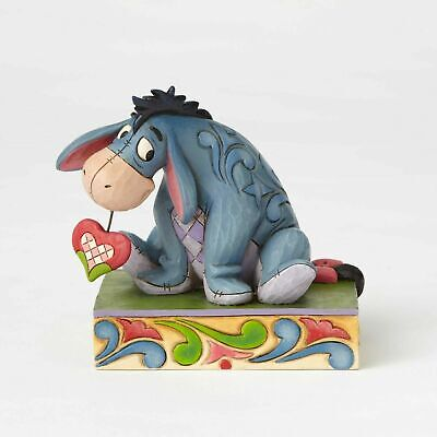Jim Shore Disney Traditions - Winnie the Pooh Heart on a String Eeyore Statue