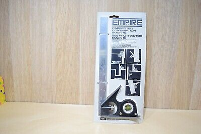Vintage Empire Combination Square NEW OLD STOCK Woodwork Old Tool