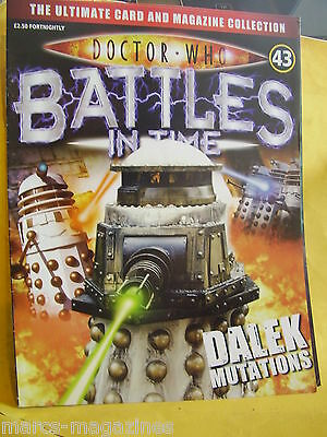 Doctor Who Battles In Time # 43 Dalek Mutations
