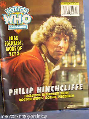 Doctor Who Magazine March 1994 # 210 With Postcards Philip Hinchcliffe