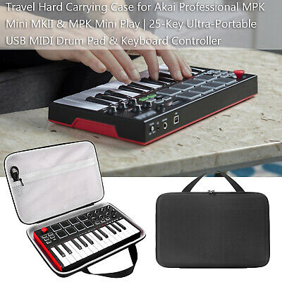 Carry Storage Bag Case Cover Shell for Akai Professional MPK Mini MKII & Play