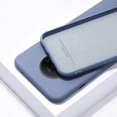 Shockproof Liquid Slim Silicone Case Soft Rubber Cover For OnePlus 7T 1+7 Pro 6T