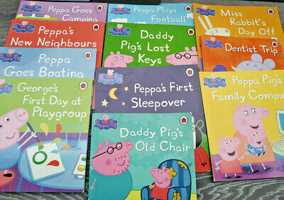 13x PEPPA PIG Books Mixed Collection paperback Ladybird Picture Adventure Action