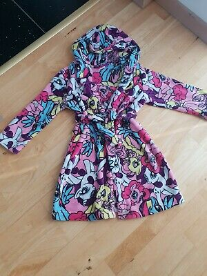 My little pony dressing gown 7/8 Years