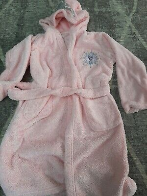 Elsa Pink Dressing Gown Age 9-10