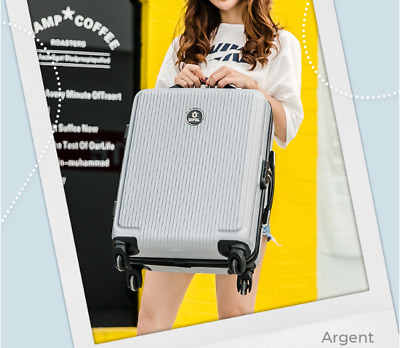 20'' Luggage Travel Set Bag ABS Trolley 360° Spinner Carry On Suitcase with Lock