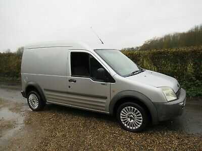 Ford Transit Connect Lwb High Top Van In Silver  With Side Door - No Vat !!!!!