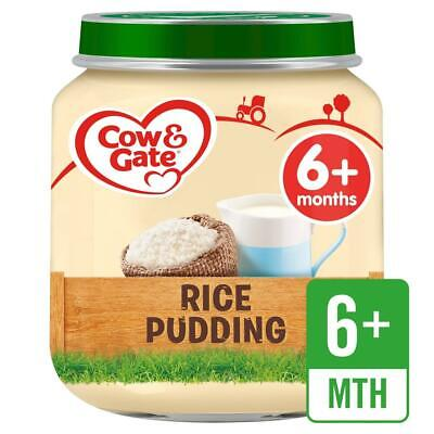 Cow & Gate Rice Pudding from 6m Onwards Jar, 125g