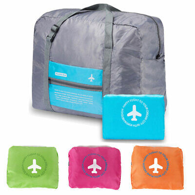 Portable Waterpoof Foldable Travel Luggage Baggage Storage Carry-On Bag NEW