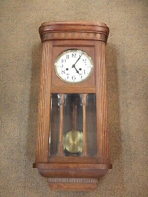 Antique German Junghans  HAC  3/4  Westminster chime wall clock