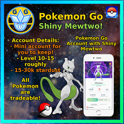 SHINY MEWTWO - Pokemon Sword & Shield - Ultra/Square Shiny 6IV Timid!