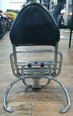 Vespa GTS 125/300 Genuine Rear Carrier Rack  with Cuppini backrest