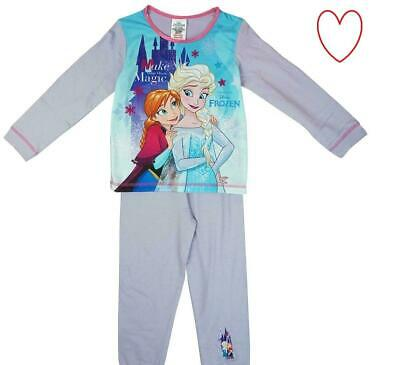 Girls Childrens Frozen 2 Pyjamas Pajamas Sleepwear Character Pajamas