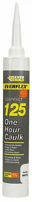 Everbuild 125C4 400ml One Hour Caulk - White