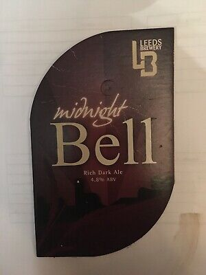 Leeds Brewery Midnight Bell Pub Bar Clip Used