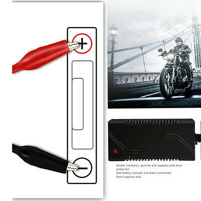 Intelligent 12V 1A Motorcycle Motorbike Battery Charger Automatic Trickle Toy
