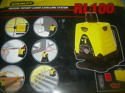 stanley interier exterior manual rotary laser levelling system, up to 140 metre