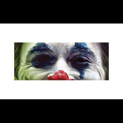 Jason Edmiston JOKER Eyes Without a Face Horror Print EWAF NYCC SDCC Halloween