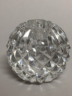 Waterford Votive Candleholder Crystal Cut Sphere from Giftware Collection 2.5""