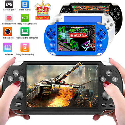 "X9S Portable 5.1"" 8GB 64Bit Video MP3 Player Camera Retro Handheld Game Console"
