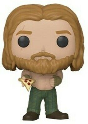 Endgame - Thor W/ Pizza - Funko Pop! Marvel: (2019, Toy NUEVO)