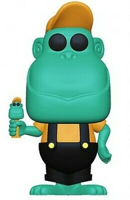 Pez - Mimic The Monkey (Teal) - Funko Pop! Ad Icons: (2019, Toy NUEVO)