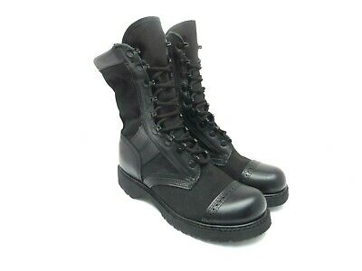 """Corcoran Men's 10"""" Leather Marauder Safety Tactical Boot 17146 Black Size 8D"""