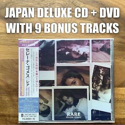 9x JAPAN BONUS TRACKS! DELUXE CD+DVD WITH 2 STICKERS! SELENA GOMEZ RARE SG2 2020