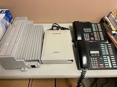 Nortel Norstar Compact ICS Phone System (NT7B56FA-93), Used + Phones + Voicemail