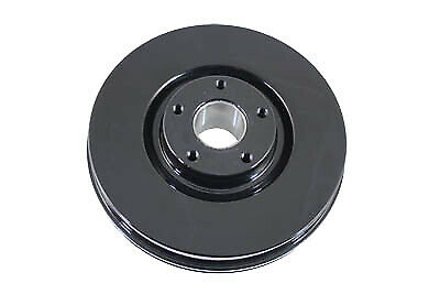Front Brake Drum Black for Harley Davidson by V-Twin