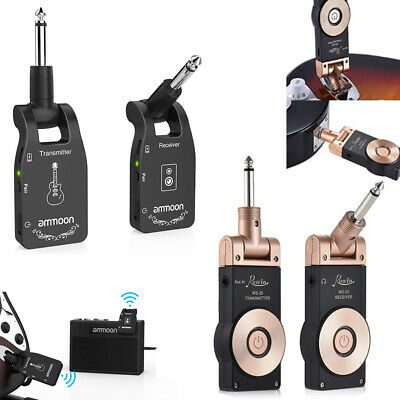 ammoon/Rowin 2.4G Wireless Guitar Audio System Transmitter & Receiver C5R4