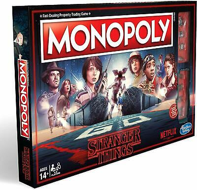 Monopoly: Stranger Things Edition Netflix  Board Game Hasbro