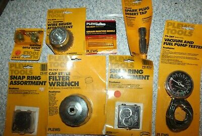 Assorted lot of PLEWS TOOLS Made in USA