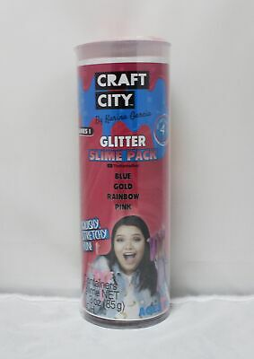Craft City By Karina Garcia Glitter Slime Pack, See Description!!