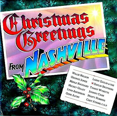 Christmas Greetings From Nashville (Various Artists) Premium Used Lp (Nm/Ex)