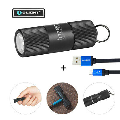 OLIGHT I1R 2 EOS 150 Lumens EDC Rechargeable Keychains Flashlight+Charging Cable