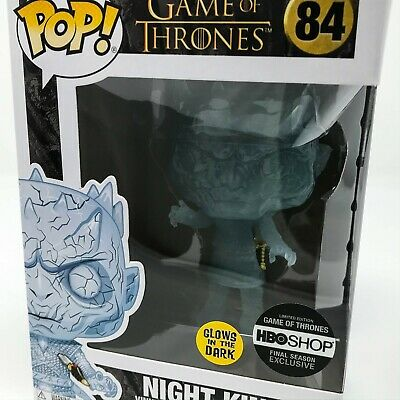 Game of Thrones - Glow Crystal Night King with Dagger (HBOShop) Funko Pop! Vinyl