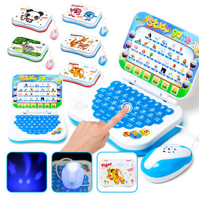 Baby Computer PC Educational Toys For 1 2 Year Old Toddler Learning English Gift