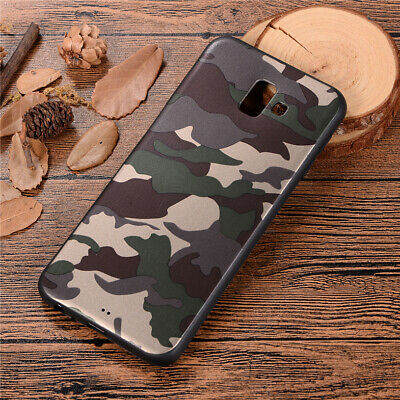 For Samsung Galaxy J4+ J6+ J8 2018 Camouflage Pattern Case Slim Soft TPU Cover
