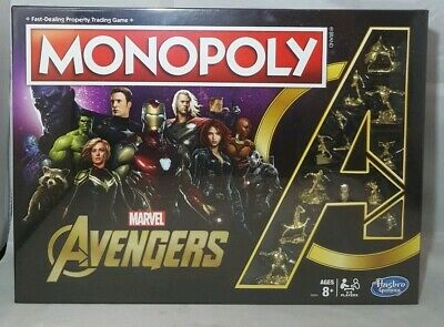 Monopoly Marvel Avengers Golden Endgame Special Edition (RARE) Collection New