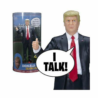 Donald Trump Talking Figure Says 17 Different Audio Lines in Own Voice