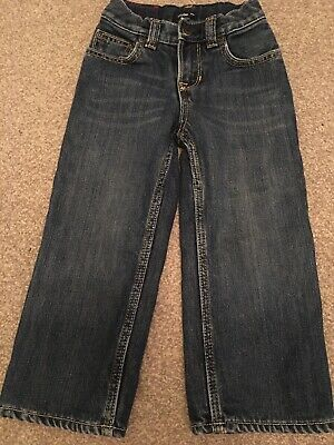 Baby GAP boys jeans lined winter dark wash Age 2T